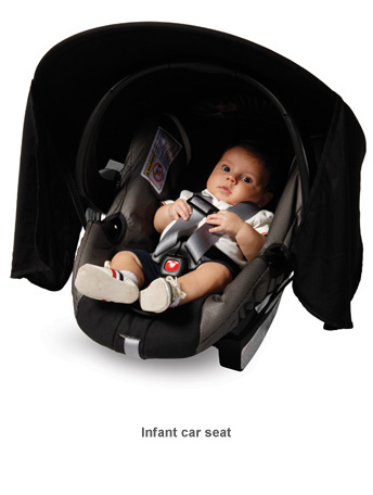 the Protect-A-Bub Car Seat