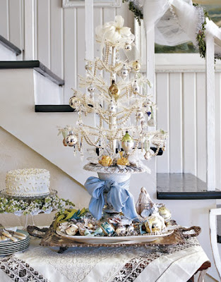 Simple and Serene Living: Table Top Christmas Trees