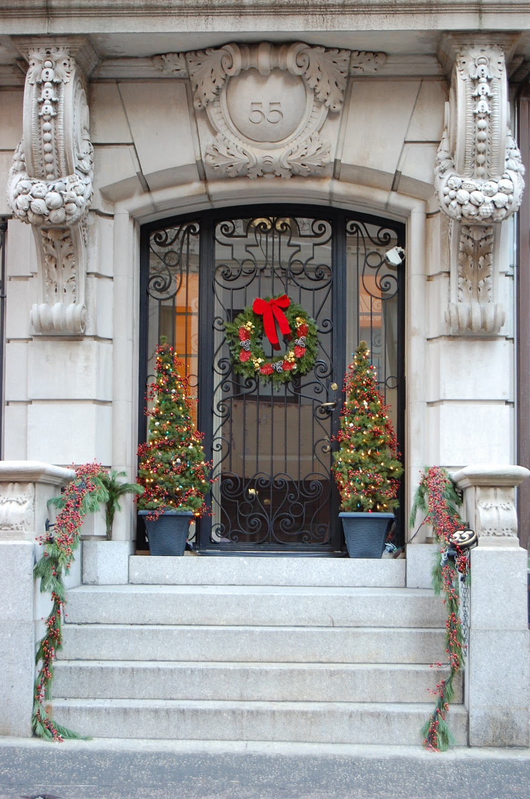 Christmas On The Upper East Side Ellegant Home Design