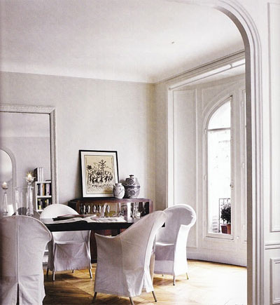 Habitually Chic®: Perfectly Imperfect Parisian Apartment