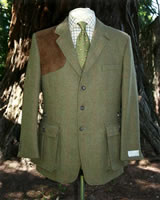 men's styling: Country Tweeds - the shooting jacket