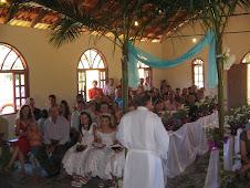 Participantes do Culto