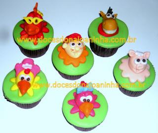 cupcakes decorados cocorico turma