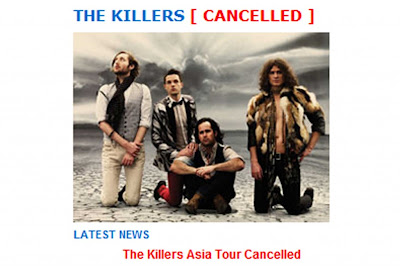 The Killers Cancel Asia Tour