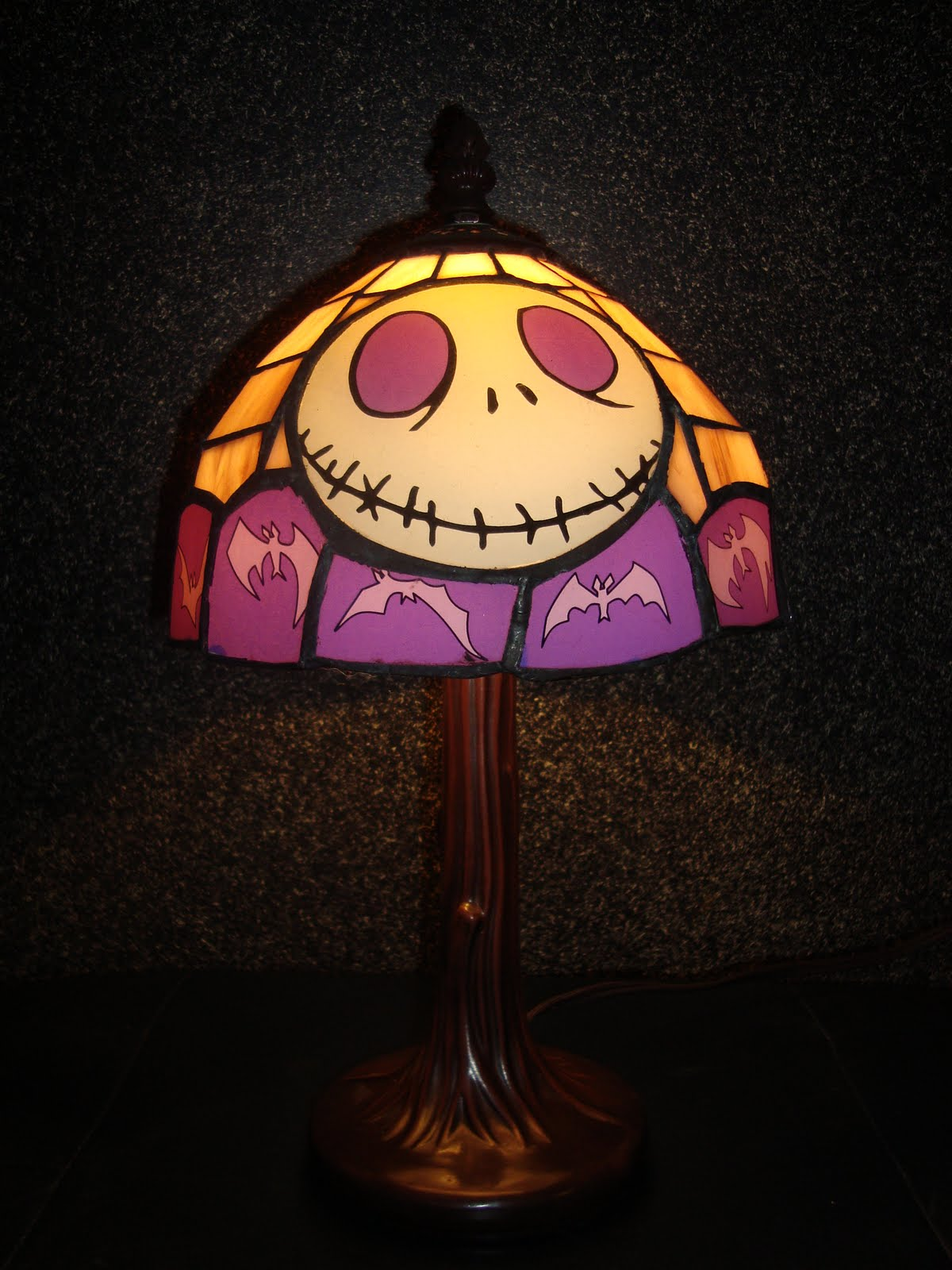 Disney Pixar Fanatics: Nightmare Before Christmas Lamps