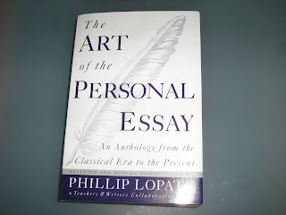 philip lopate the art of the personal essay introduction