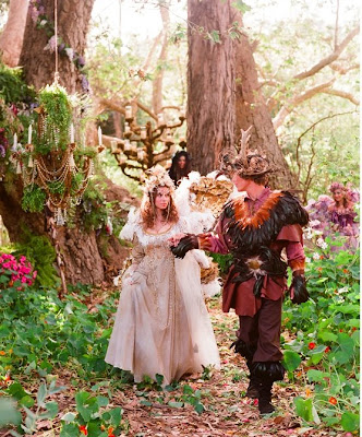 Photographer Elizabeth Messina showcased this fairy tale wedding on her blog