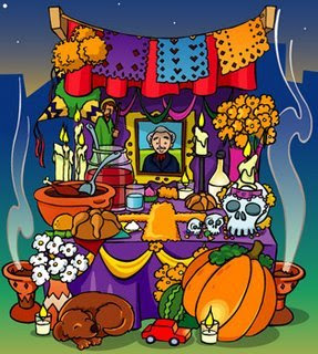 El 1º de noviembre se celebra el día de todos los santos, o de los