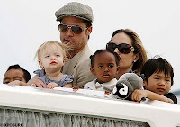 angelina jolie and brad pitt with their kids