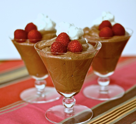 ... and Easy Chocolate Desserts - Mousse Or Malted Ice Cream Sandwiches