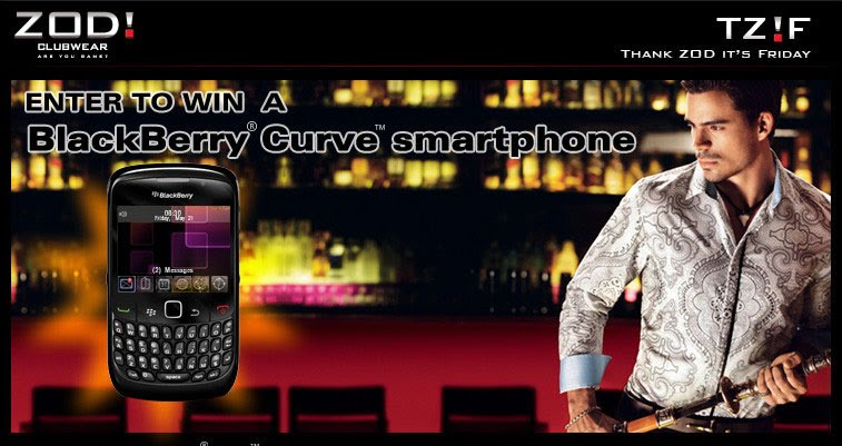 Win Blackberry Curve Every Week
