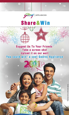 Win a Cool Godrej Appliance !!