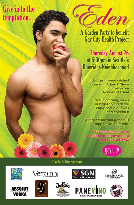 It's a benefit for Gay City Health Project and it happens Tomorrow, ...