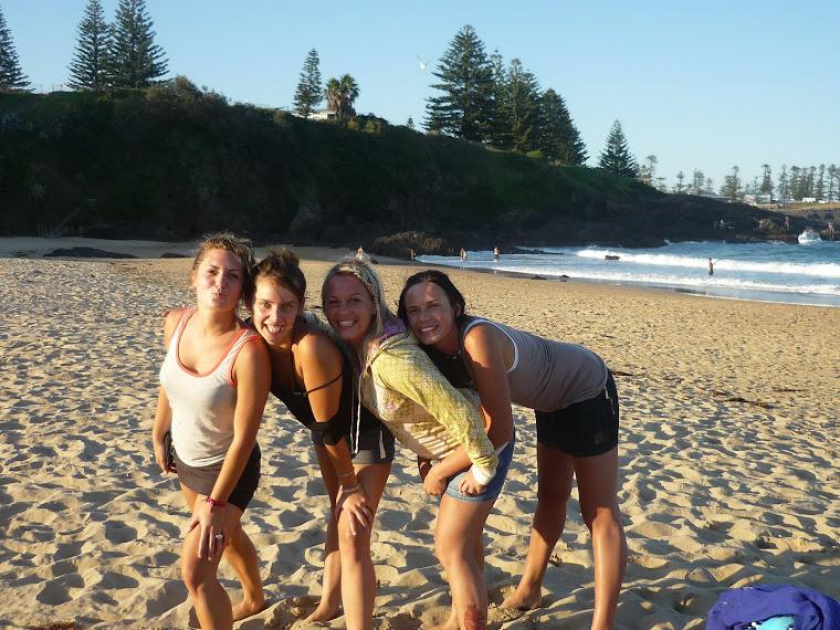 Kiama Beach- Babski Team