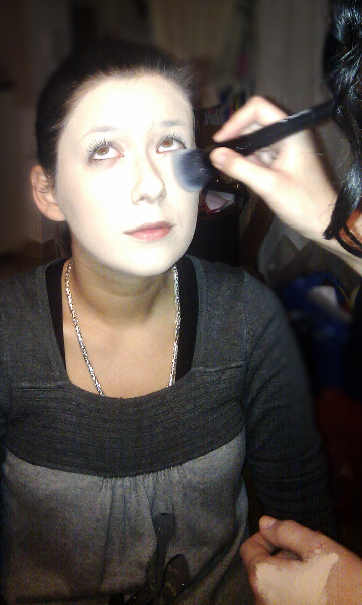 makeupdijana: lorina sminka za noc vestica../ lora's halloween