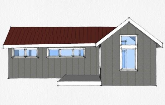Plano de casa de 1 dormitorio y 46 metros cuadrados planos para casas y departamentos gratis - Pasar de metros a metros cuadrados ...