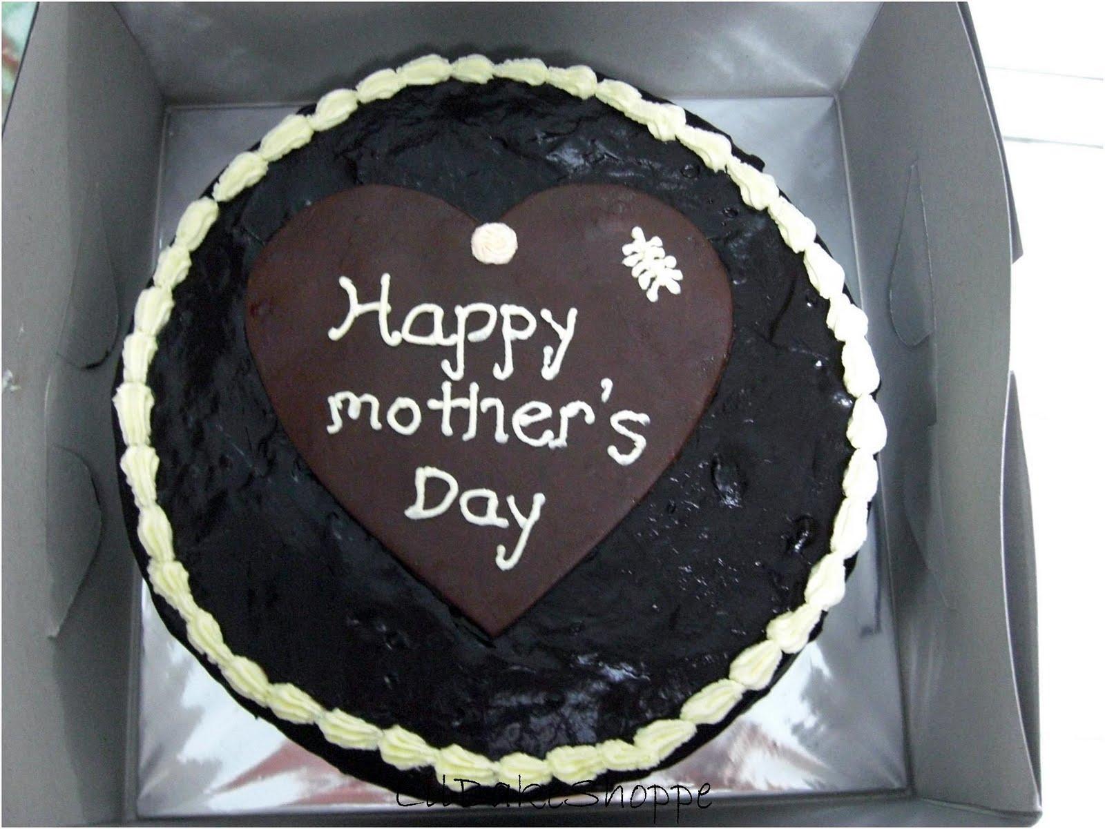 Happy Mothers Day Chocolate Fudge Cake