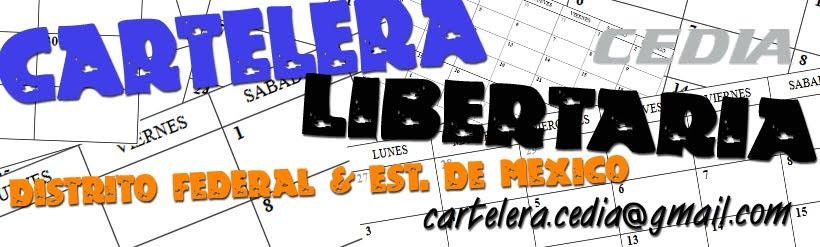 CARTELERA LIBERTARIA
