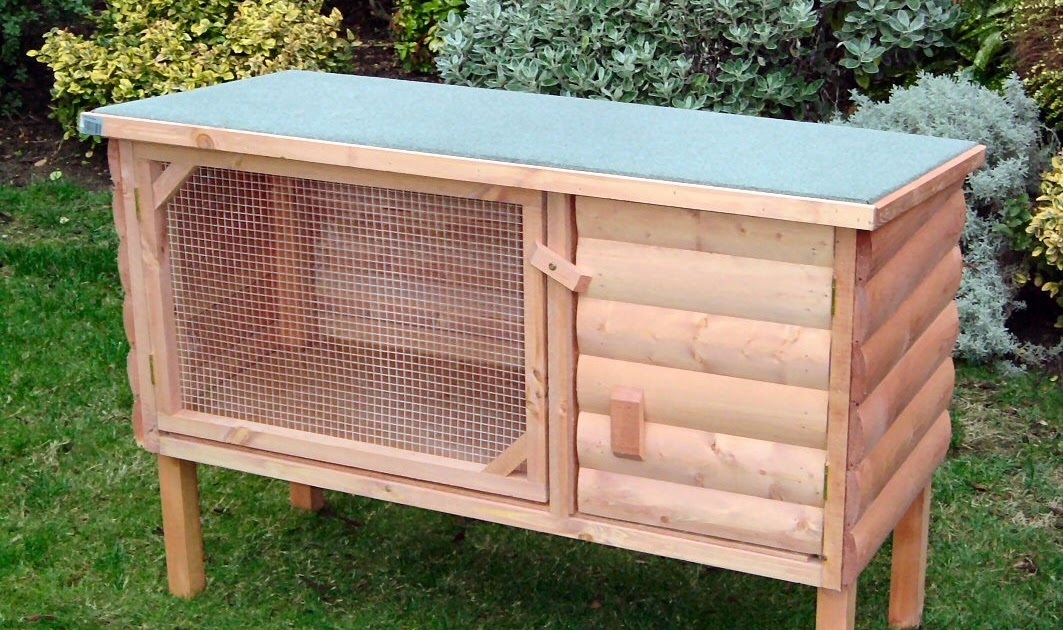 Rabbit Hutch Cage Free Woodworking Project Plans
