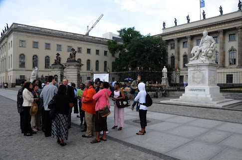 Berlin - Visit to Humboldt University