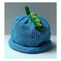 The Pea Pod Baby Hat Knit Kit from KidKnits includes pattern and yarn