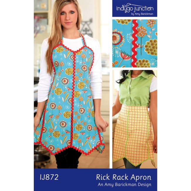 indygo junction rick rack apron pattern Fun Sewing Patterns