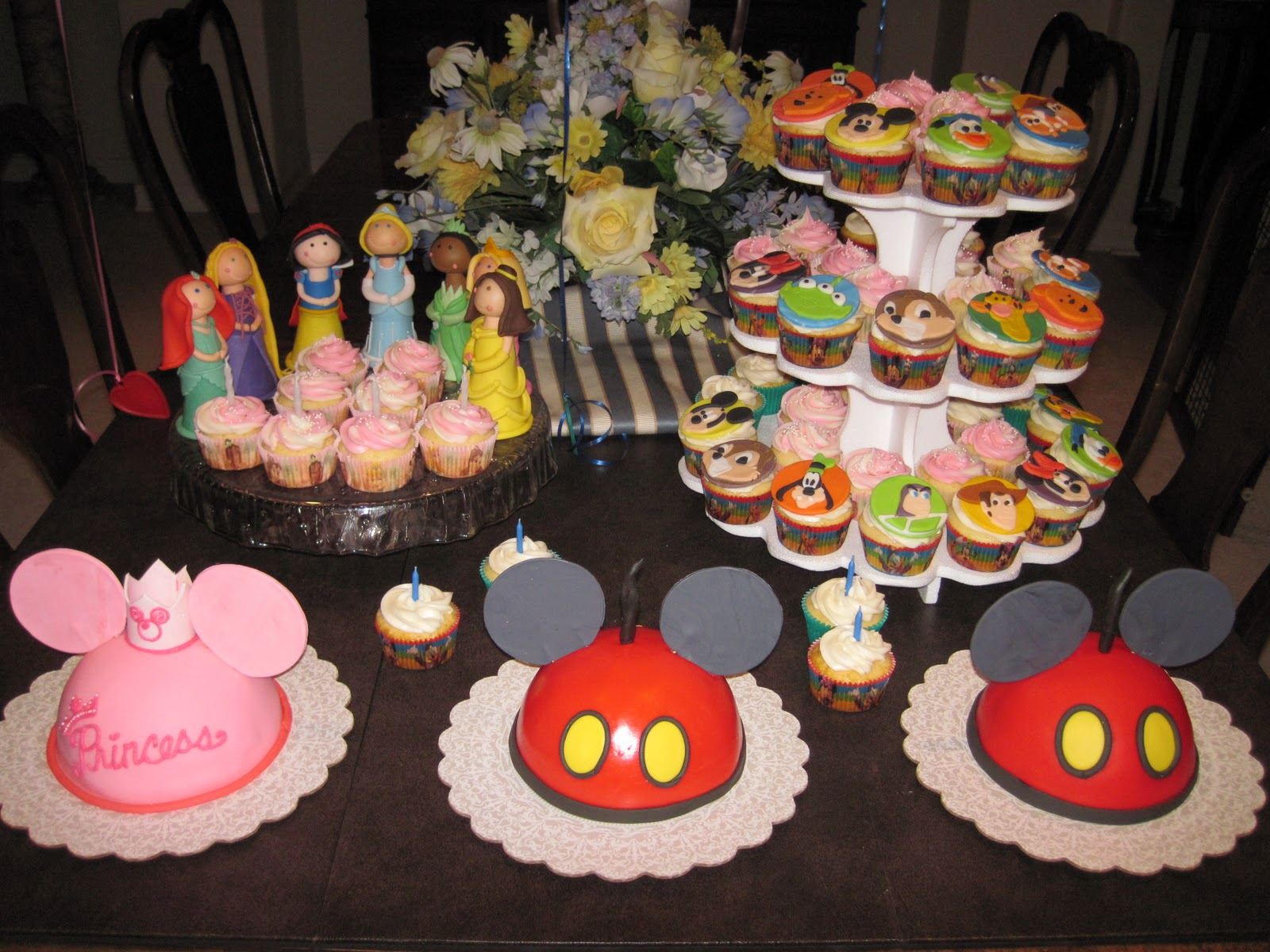 Kaylynn Cakes Disney Birthday