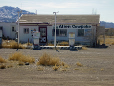 Alien Cowpoke Gas Station