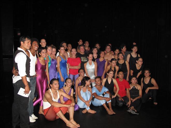 Bailarines / 4o bloque Invernadero Danza 2009