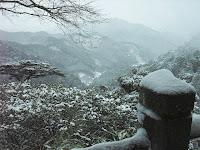 鳳来寺南方を望む