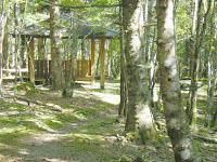 麻布山頂の東屋