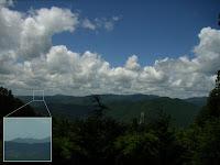 秋葉山から浜松風力発電所