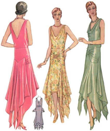 Vintage 1920s' fashion