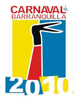 Afiche Carnaval de Barranquilla 2010