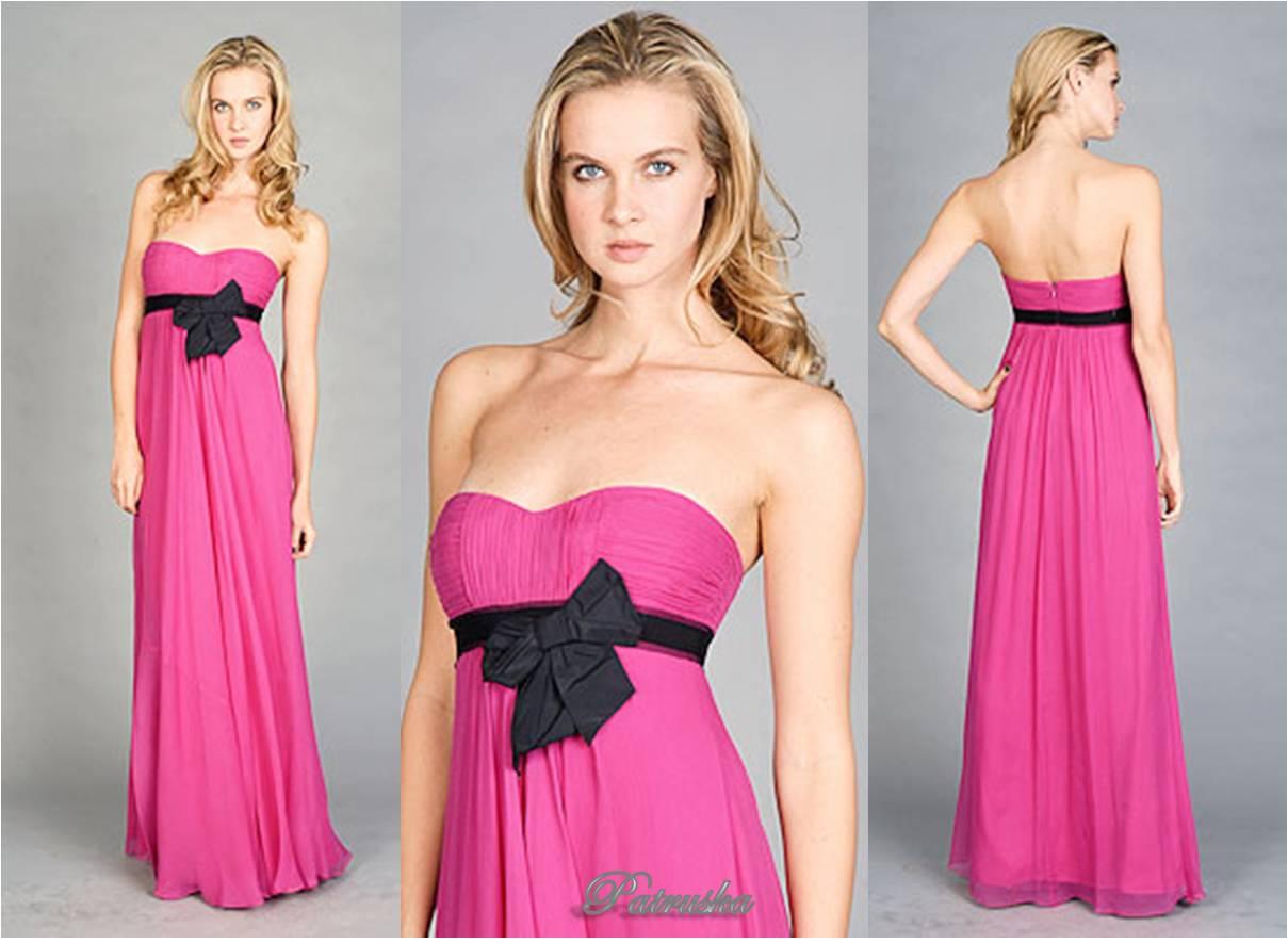 El Modelo De Vestidos Fucsia De Noche Luzca Muy Elegante