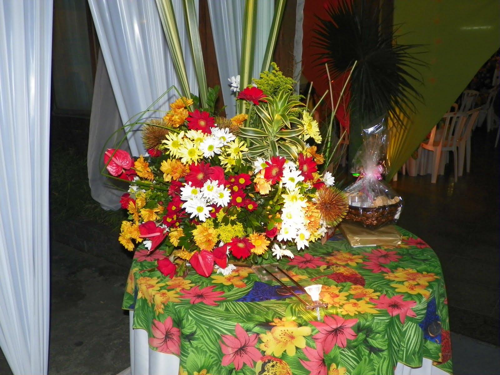 decoracao festa tropical