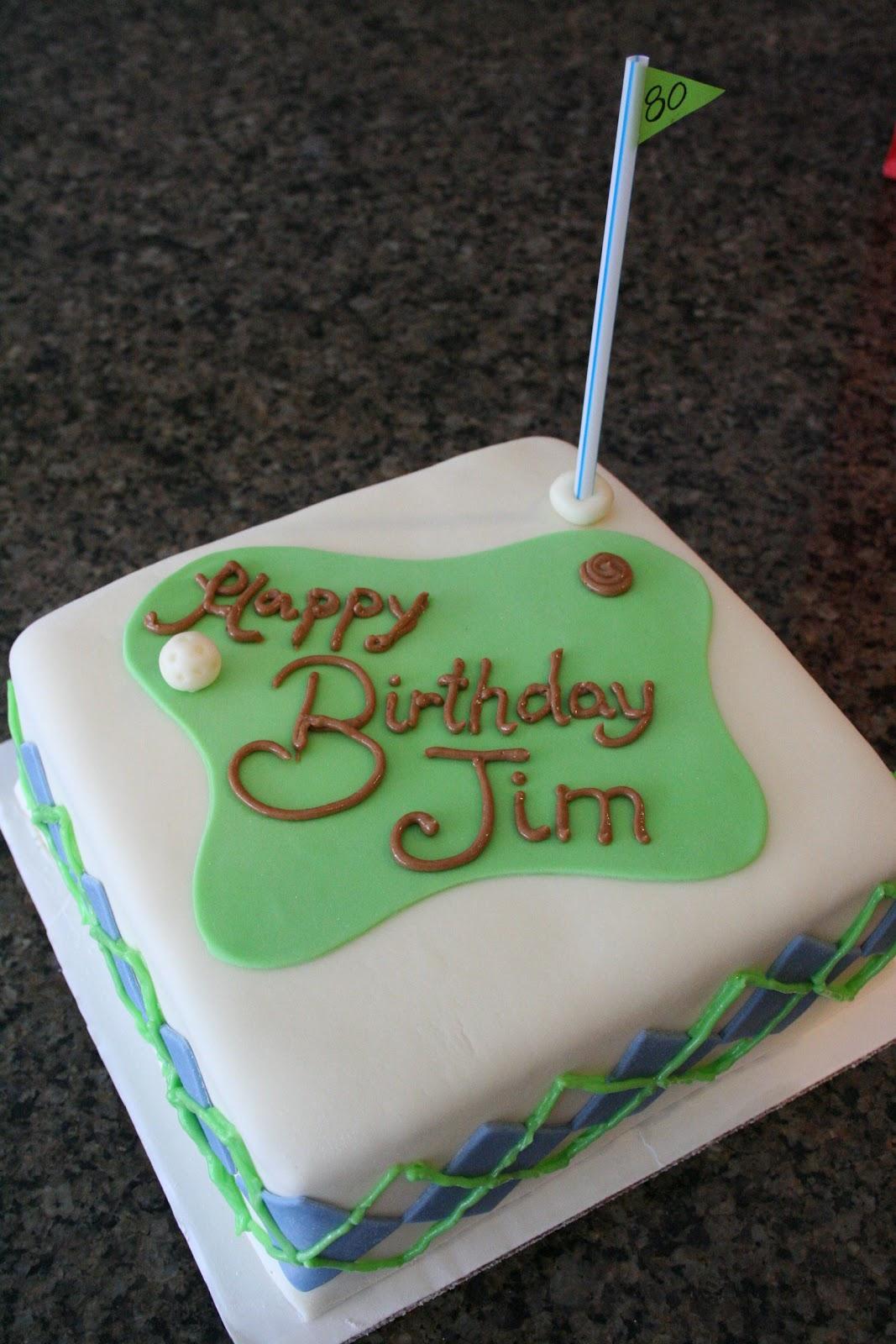 Happy Birthday Jimmy Cake