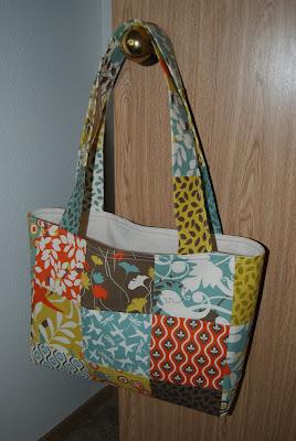 Patchwork Shoulder Bag Tutorial