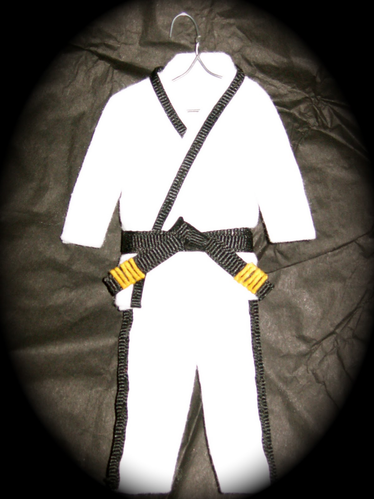 Karate christmas ornament - This Year My Children S Ornaments Have Been My Little Secret In Order To Surprise Them Christmas Morning They Are Time Consuming But I Enjoy Making These