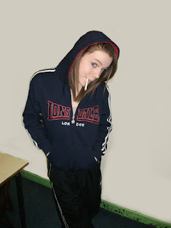 robbie's year 12 stuff: These were prep photos for my chav stereotype