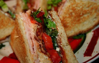 Deep South Dish: Classic Turkey Club Sandwich with Cajun ...