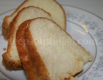 In my mind a perfect pound cake like Grandma's is moist, tender, light ...