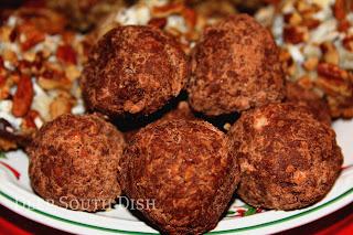 Deep South Dish: Old Timey Rum Balls or Bourbon Balls