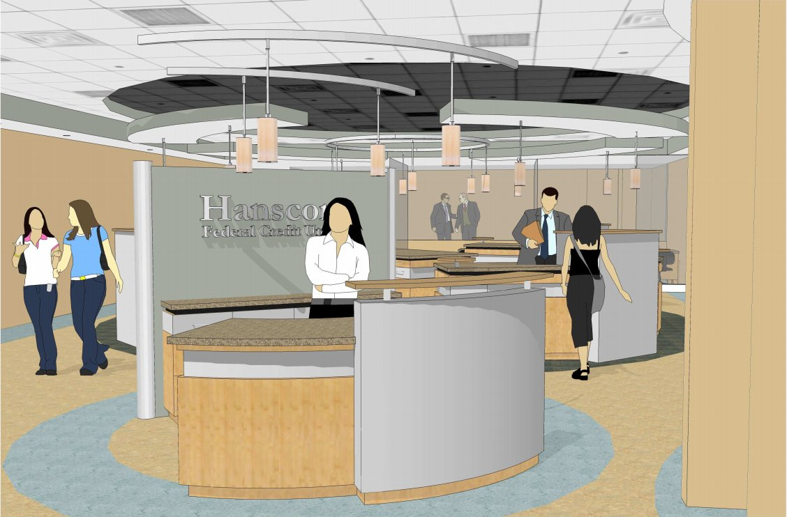 Bedford Mass - What's new in Retail: Bedford Hanscom Federal Credit Union Expansion Almost Complete
