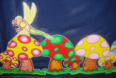 Bermulanya di prasekolah ini januari 2009 for Mural untuk kanak kanak