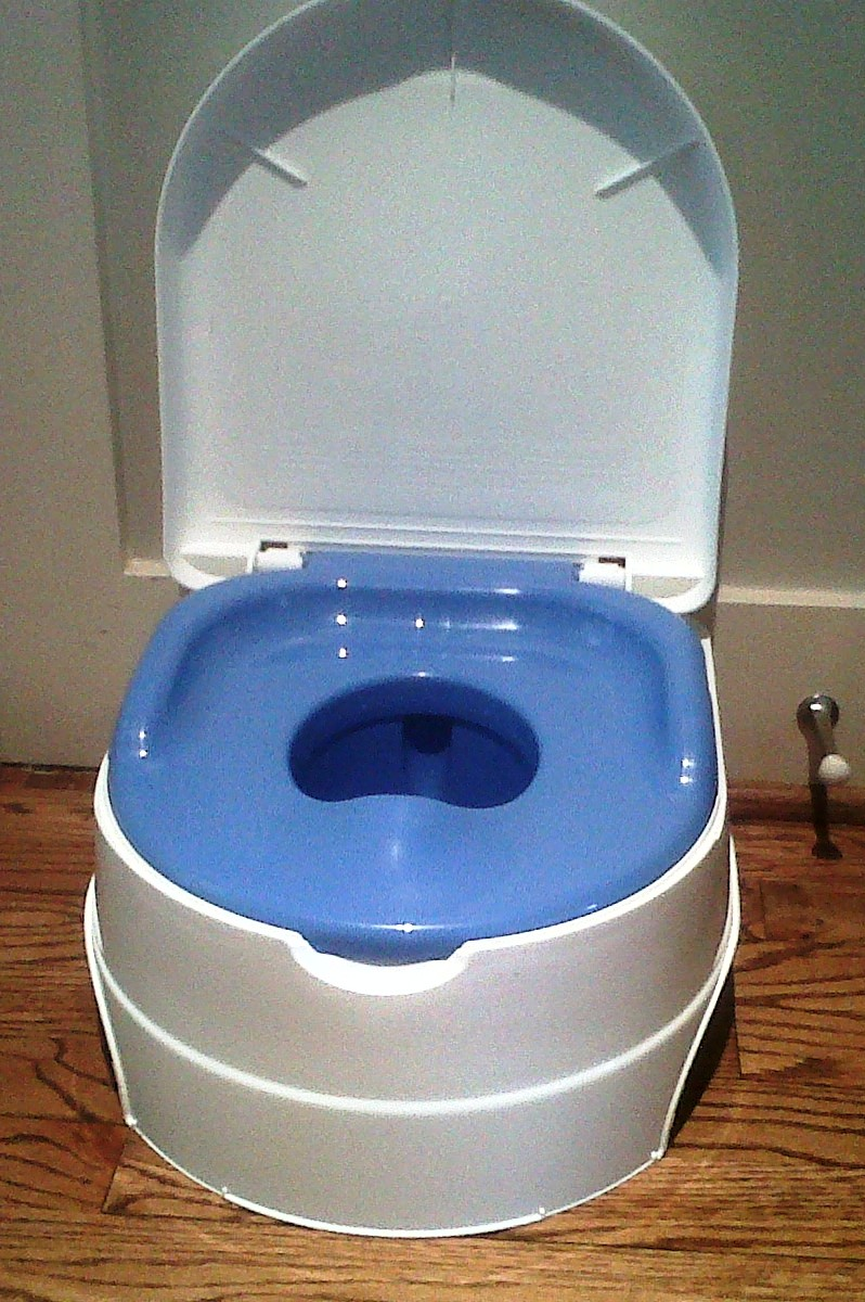 Adult portable potty