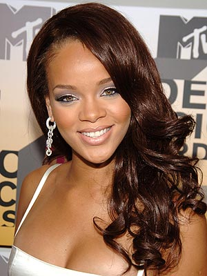 rihanna red hair wallpaper. rihanna red hair wallpaper