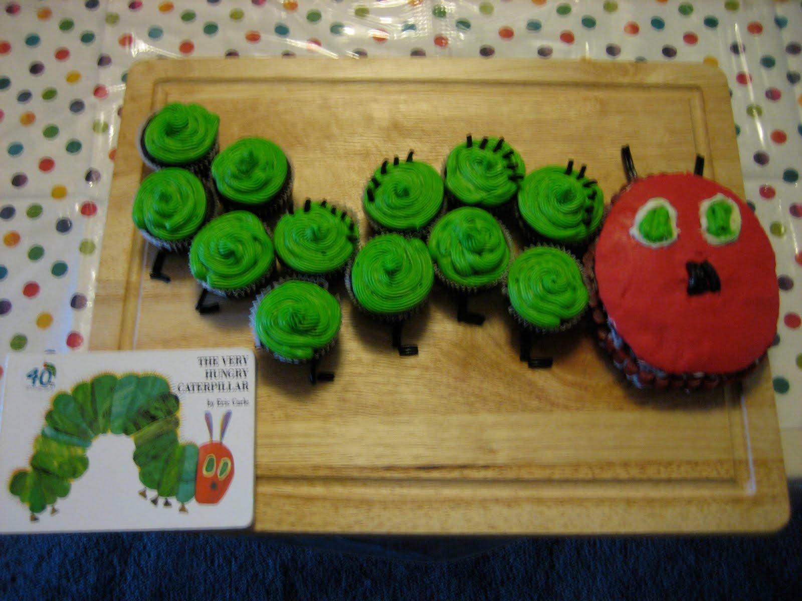Hungry Caterpillar Fondant Cake Topper
