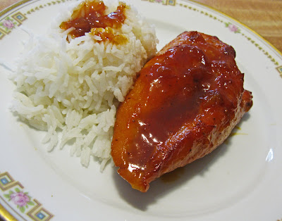 Food for A Hungry Soul: Apricot Glazed Chicken