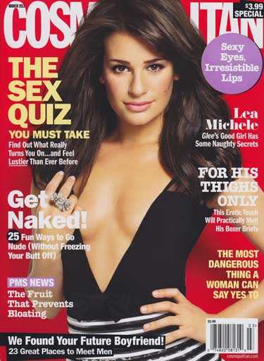 lea michele hot photoshoot. lea michele cosmo photoshoot.